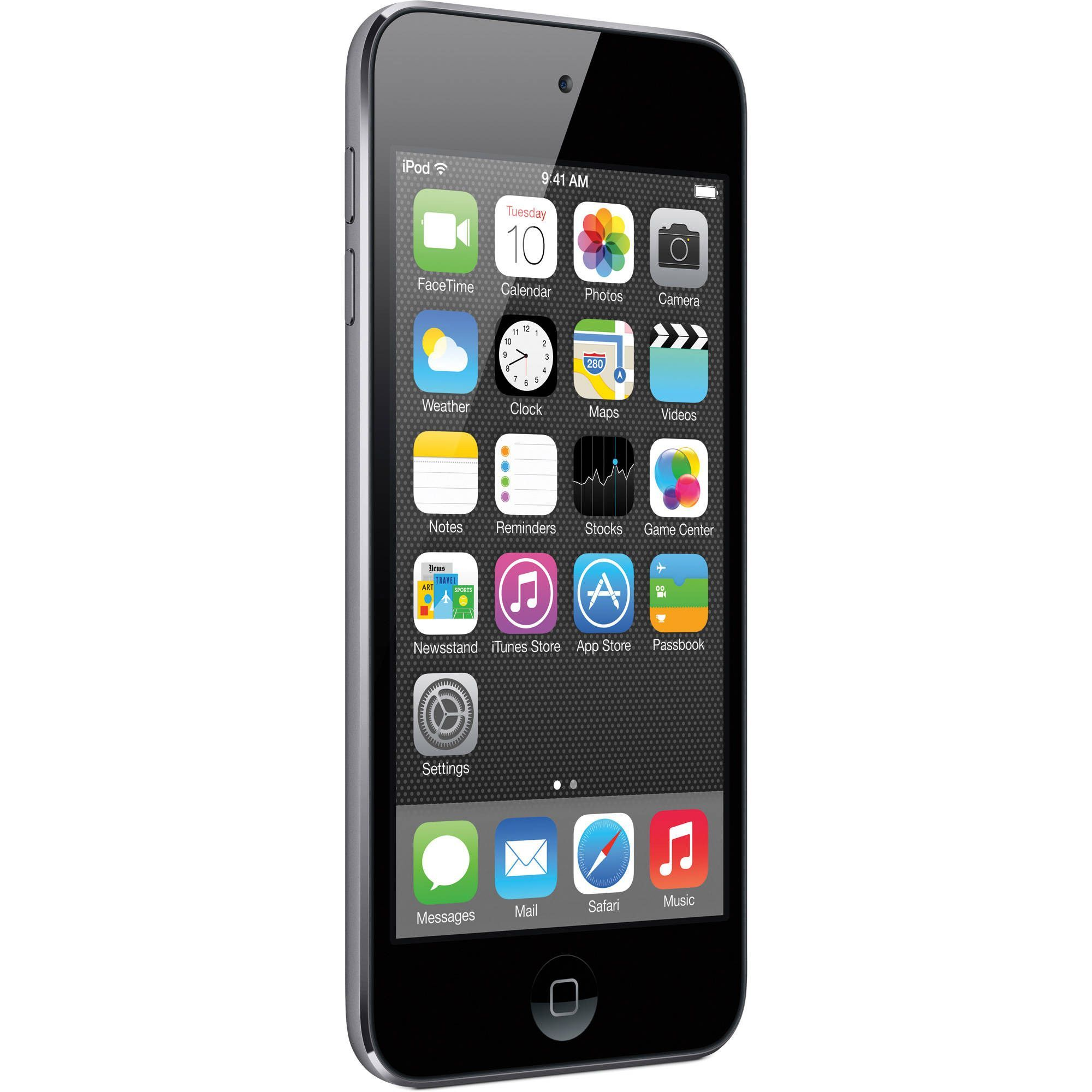 iPod touch features a 6mm ultrathin design and brilliant