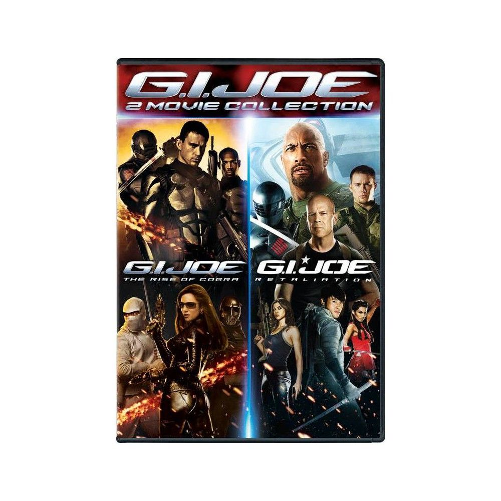 G.I. Joe 2movie Collection (Dvd) Movie collection, 2 movie