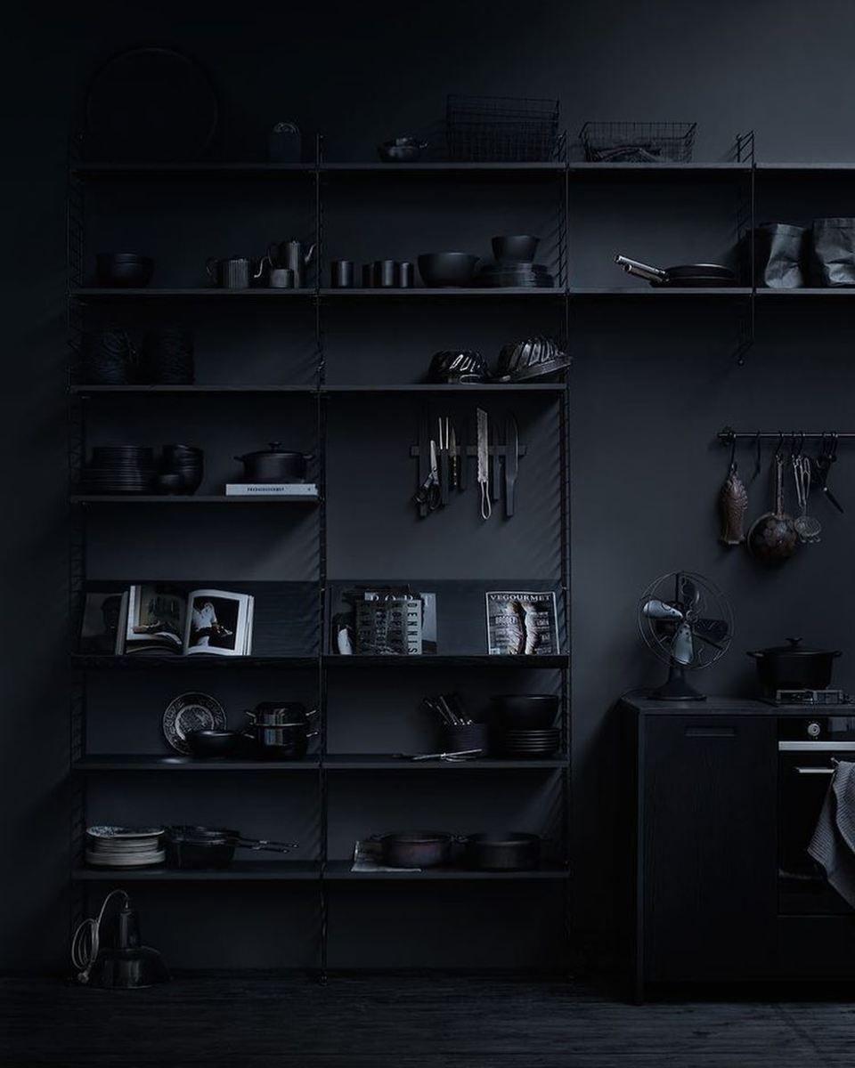 Random Inspiration 307 Ultralinx Black Interior Design Black Decor Black Living Room