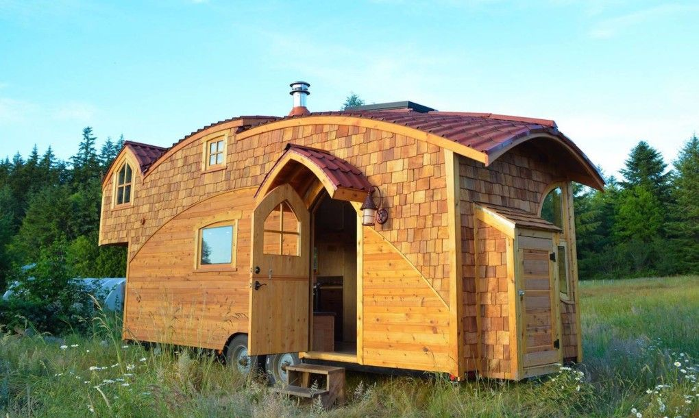 Stunning Moon Dragon Is A Fairytale Like Tiny House That