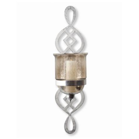 Beverton Wall Sconce from Z Gallerie (With images)   Wall ... on Decorative Wall Sconces Candle Holders Chrome Nickel id=71889