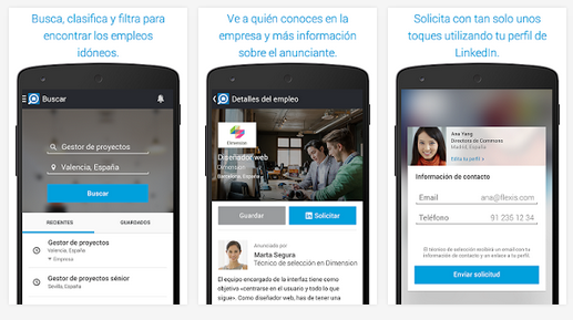 Linkedin Job Search, una interesante 'app' gratuita para