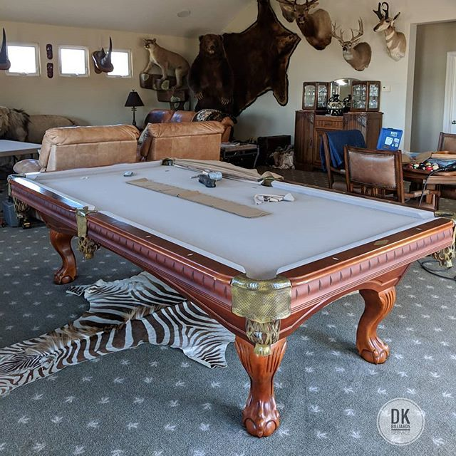 Refelting This 18 Year Old World Of Leisure 9 Pool Table In