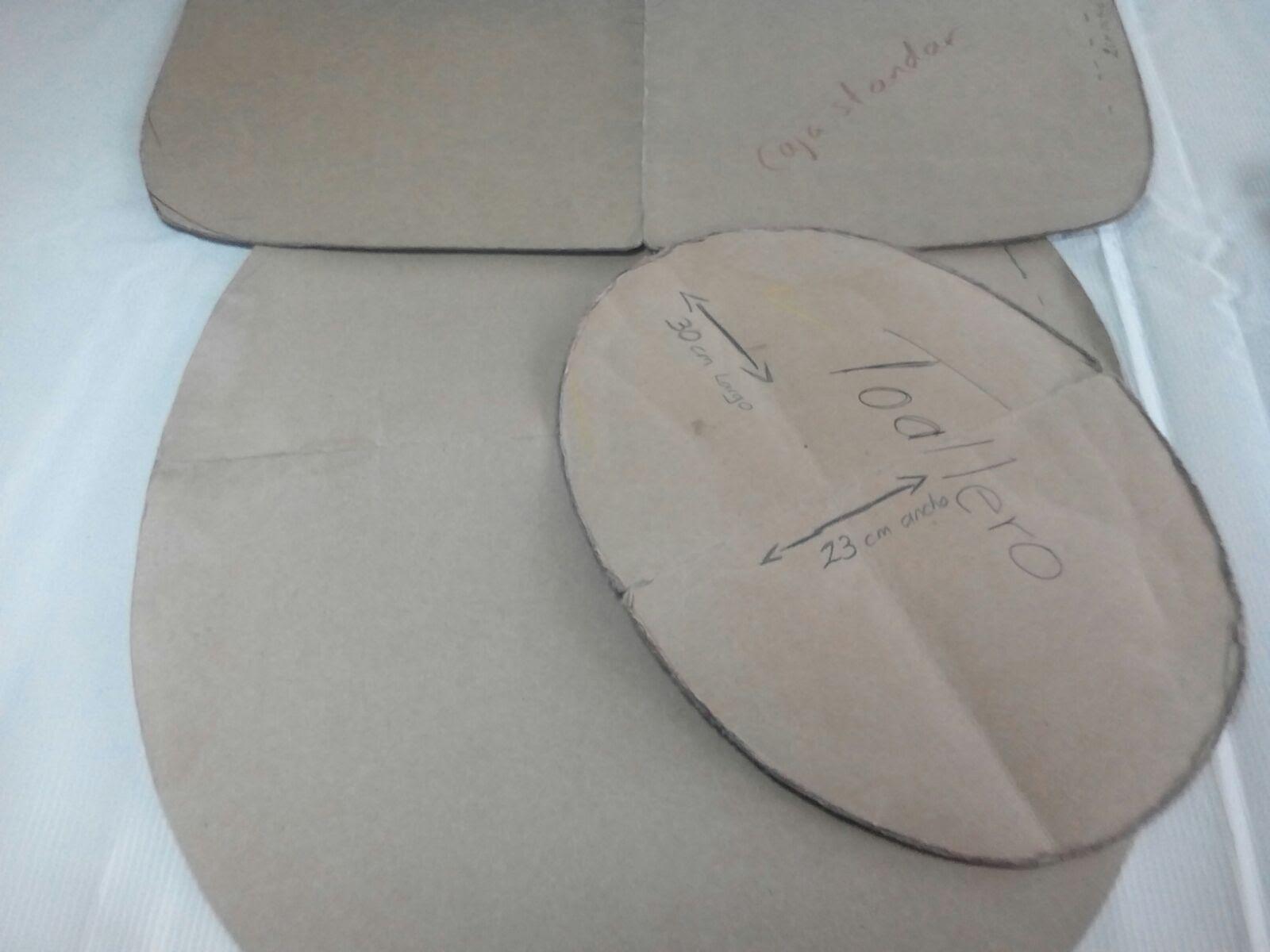 Como hacer un molde para jgo de ba o costura pinterest - Como disenar un bano ...