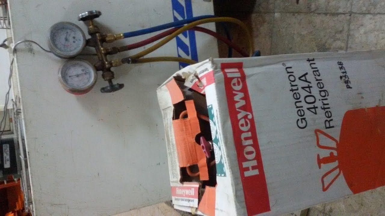 طريقة تعبئة فريون A 404 في غرف التبريد المتنقلة Remplissez Freon 404 Ref Convenience Store Products Refrigerator Convenience Store