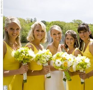 Ladies in yellow.