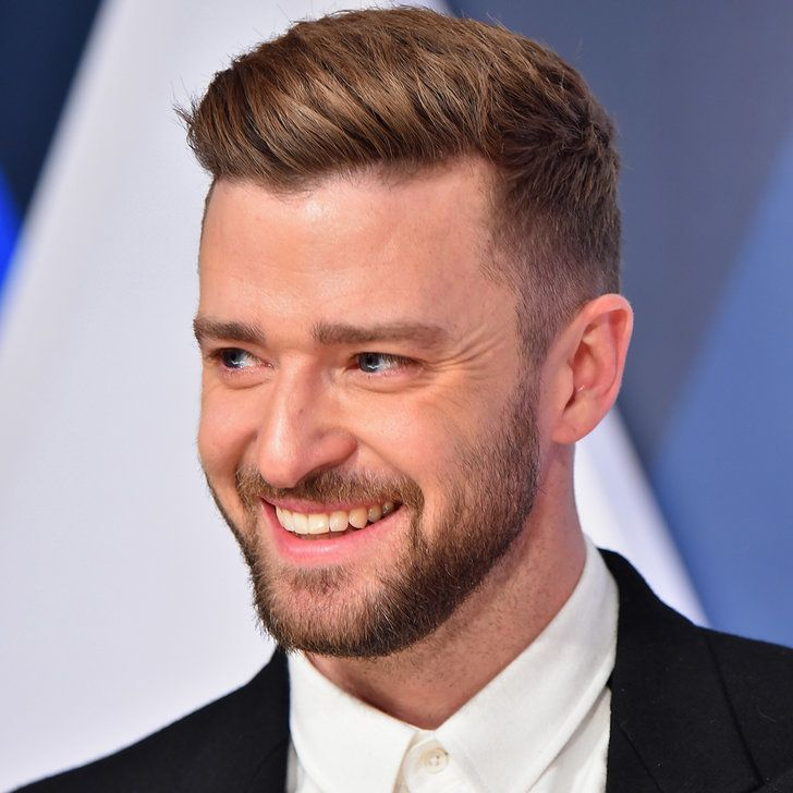 Justin Timberlake Has A Special Date Night With Jessica Biel At The Cmas Cool Hairstyles For Men Justin Timberlake Hairstyle Hairstyles For Thin Hair