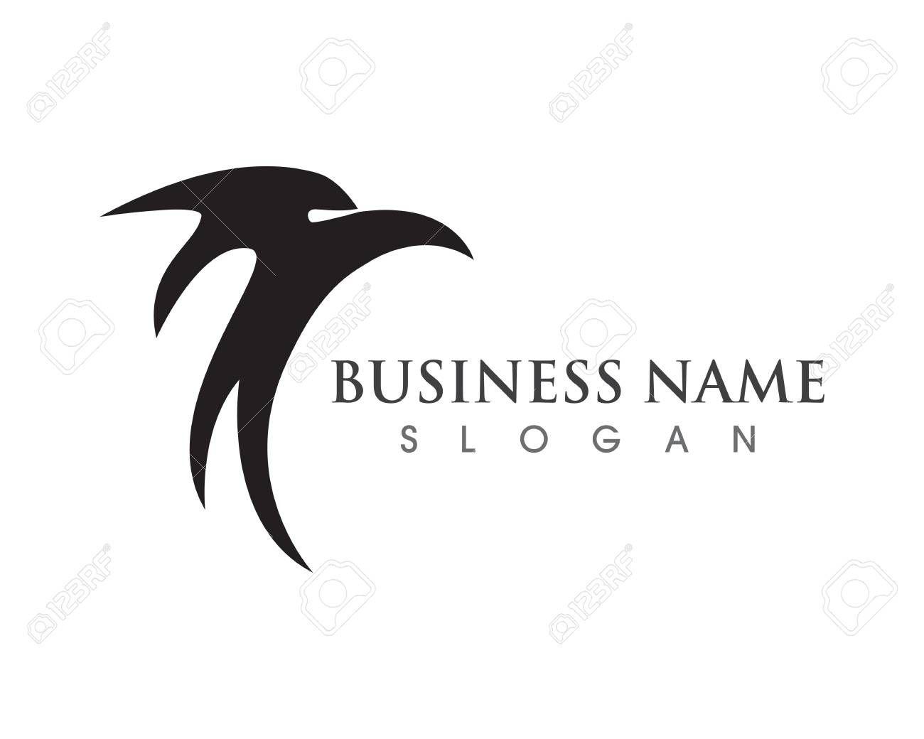 Eagle wing falcon logo and symbols