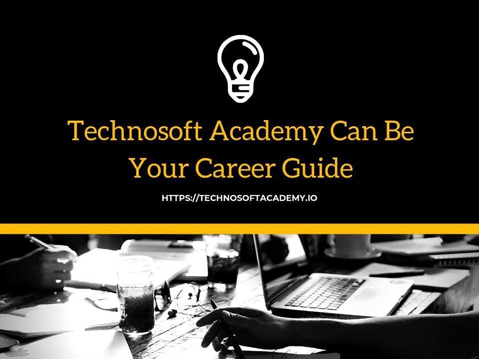 All the career coaches here at Technosoft Academy will