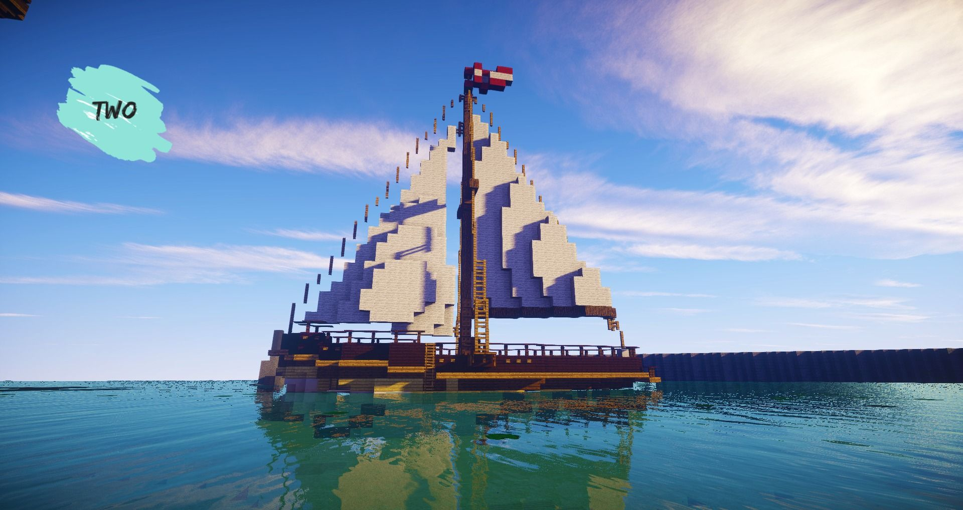 How to build a simple modern ship in minecraft minecraft