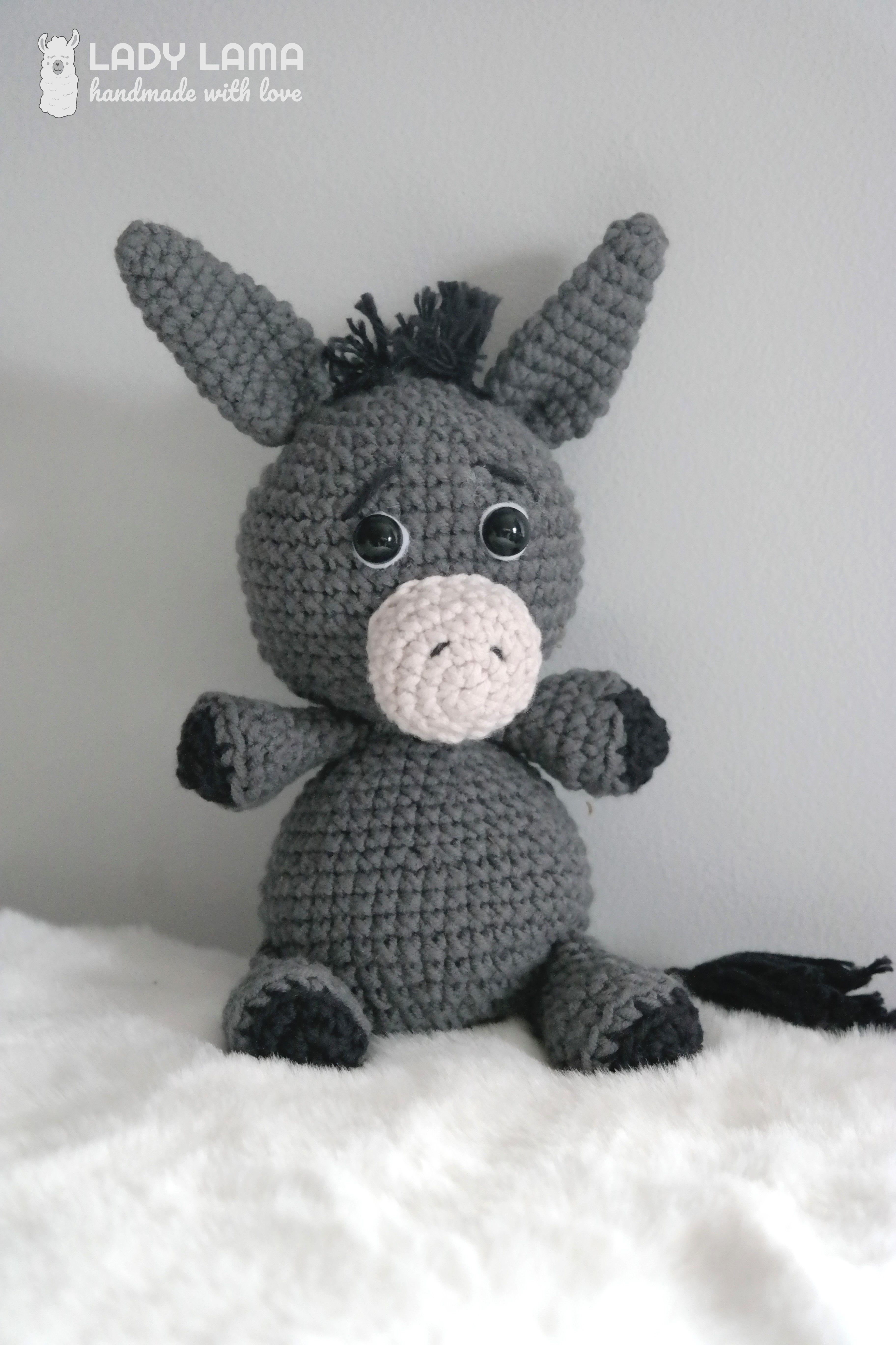 Amigurumi Crochet Pattern Donkey Amigurumi Pattern Animal | Etsy | 5472x3648