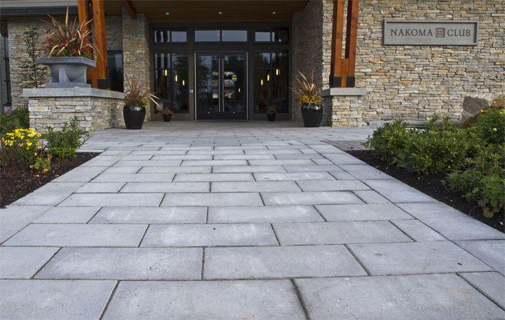 Broadway Interlocking Pavers For Patios Walkways Barkman Creating Concrete Solutions Pavers Outdoor Pool Decor Large Stone Pavers