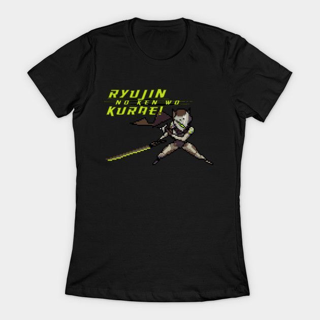 Genji Quotes Overwatch  16Bit Genji Quote Womens Tshirt  Products  Pinterest