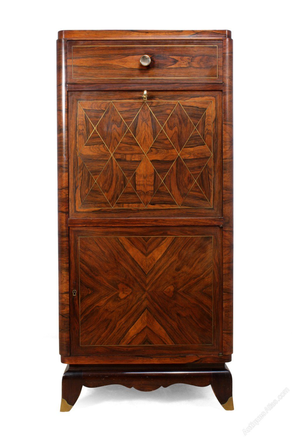 Jugendstil Deko Art Deco Cocktail Cabinet In Rosewood C1920 Antiques Atlas Art