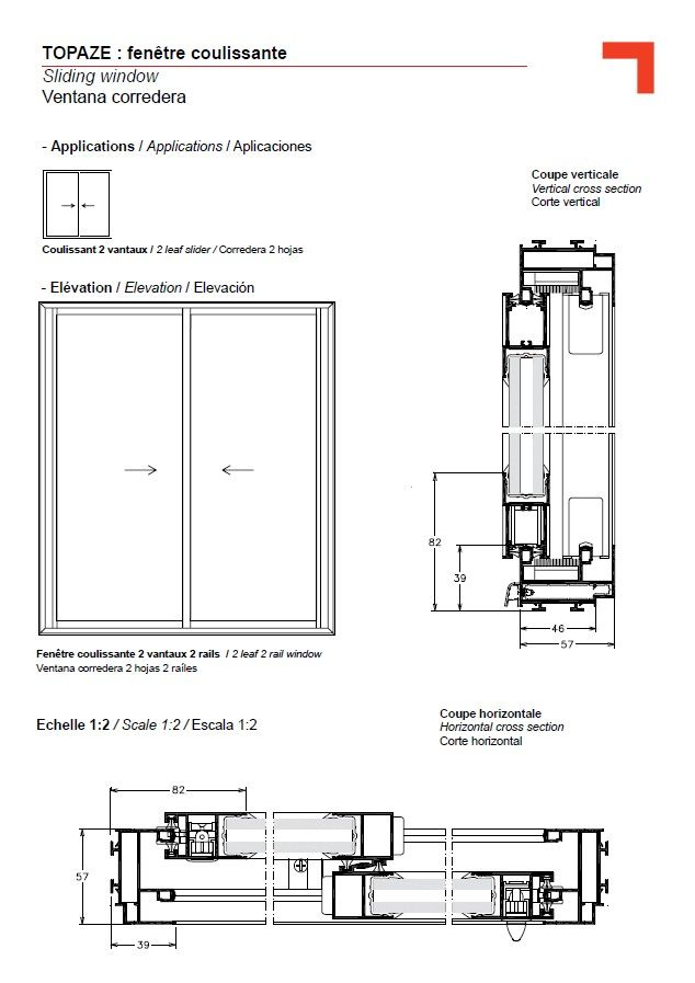 Double Hung Window Section : Image result for timber horizontal sliding window detail