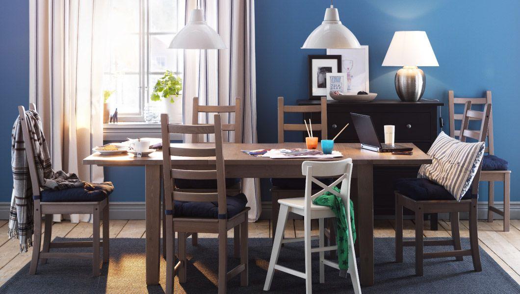 f r mehr als nur die mahlzeiten ein essplatz mit storn s ausziehtisch und kaustby st hlen in. Black Bedroom Furniture Sets. Home Design Ideas