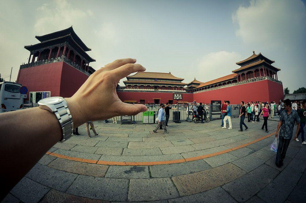 Der Kaiserpalast in Peking.