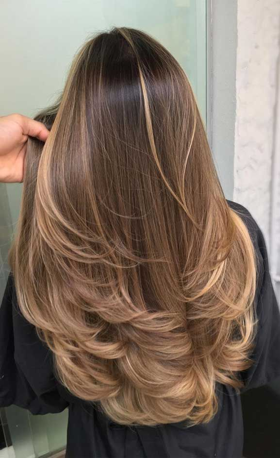 The Best Hair Color Trends And Styles For 2020 Hair Styles Long Hair Styles Brown Blonde Hair