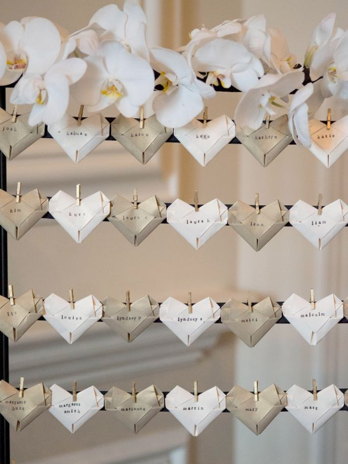 Heart Shape Wedding Details