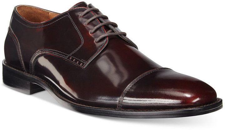 Johnston & Murphy Men's Knowland Cap-Toe Oxfords Men's Shoes Tj9Hfbg