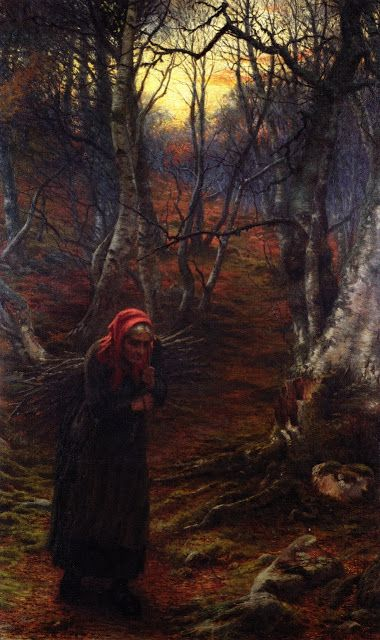 Joseph Farquharson (1846-1935), The Sere and the Yellow Leaf.