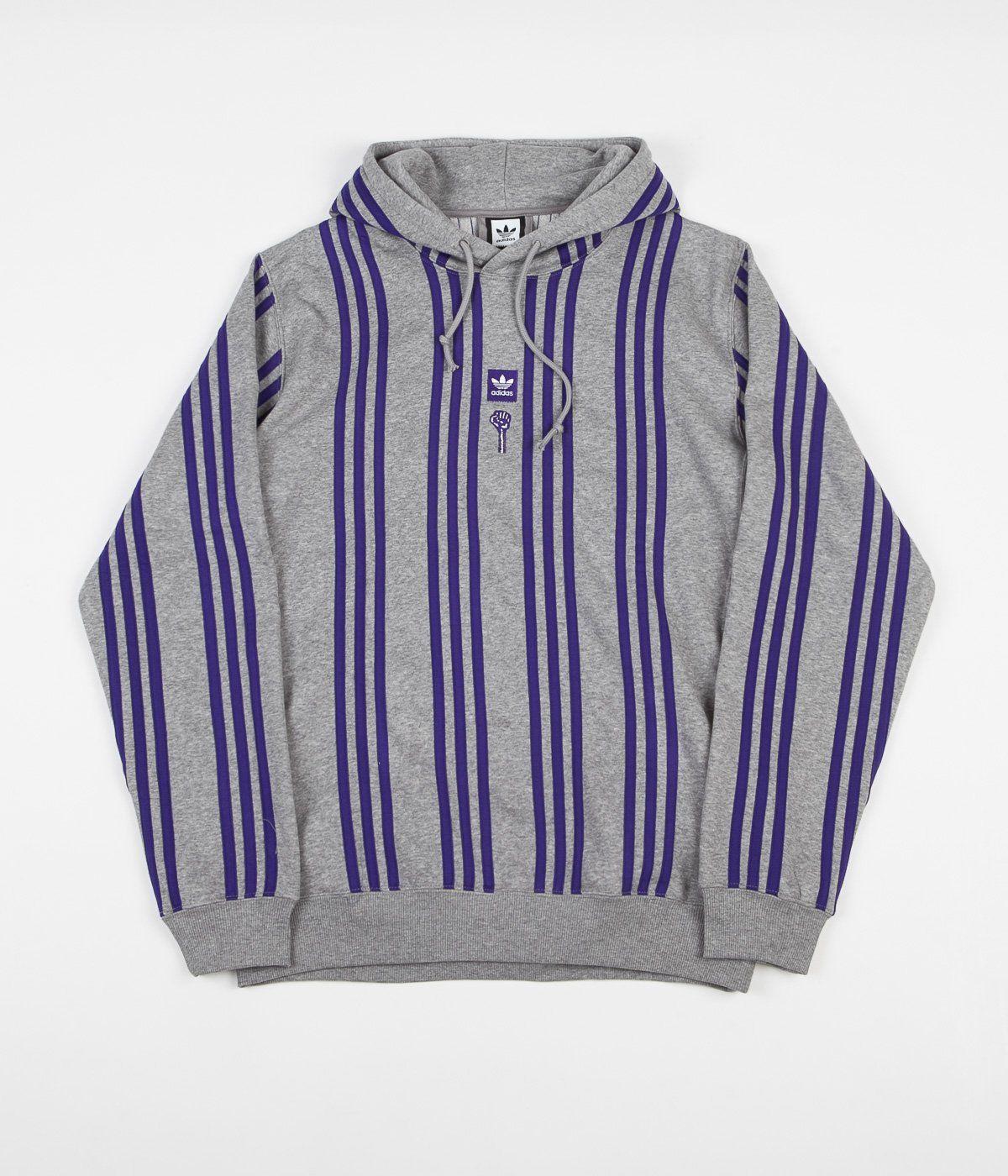 Adidas x Hardies Hoodie Core Heather Collegiate Purple