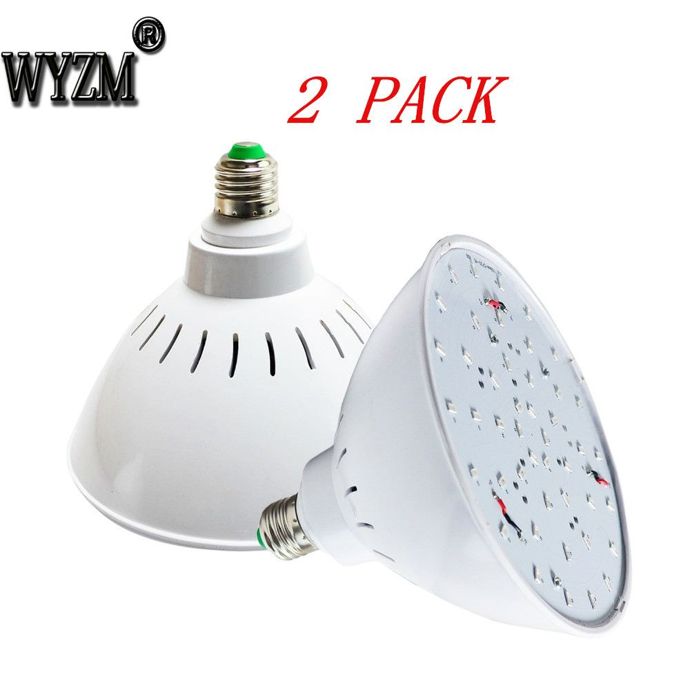 2 Pack 120v 35w Rgb Swimming Pool Led Light Bulb Daylight White E26 Base 500w Tradition Bulb Replacement Ship From Us Led Pool Lighting Led Light Bulb Bulb