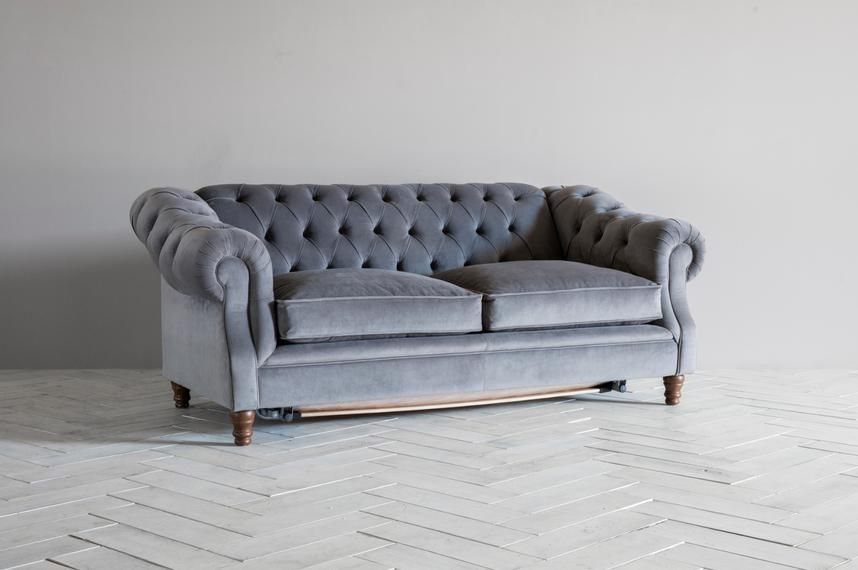 a grand imposing chesterfield pull out sofa bed dream house rh pinterest com Pull Out Sofa Beds for Small Spaces Pull Out Sofa Mattress Replacement
