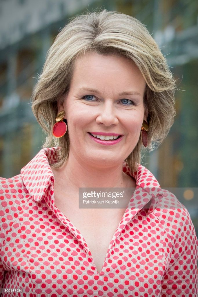 Queen Mathilde of Belgium attends the 80th birthday celebrations of ...
