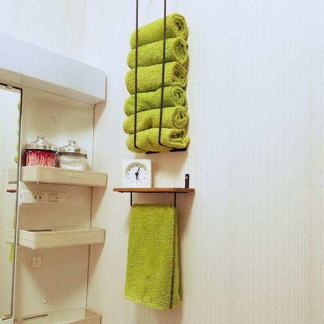 kotaronさんの、IKEA,seria,タオル,バス/トイレ,のお部屋写真