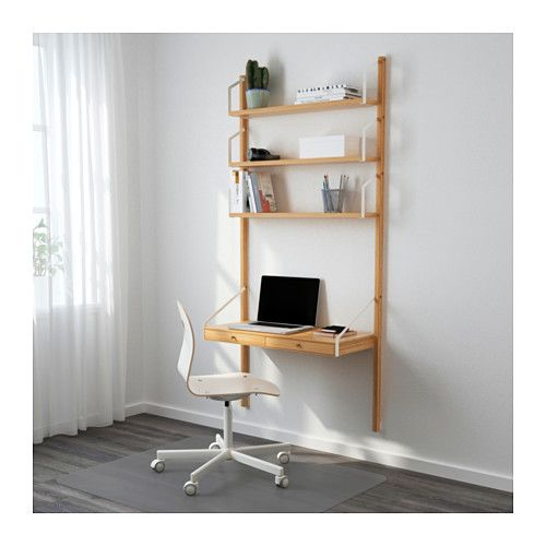 Svalnas Wall Mounted Storage Combination Bamboo 33 7 8x13 3 4x69 1 4 Idee Ikea Idee Scaffale Arredamento D Interni