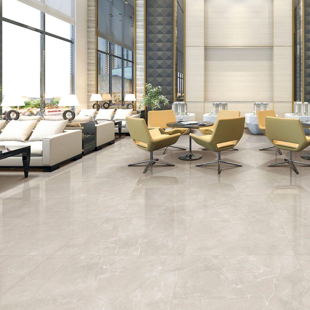 Perla Soft Grey Polished Porcelain Floor Tiles Tile Floor