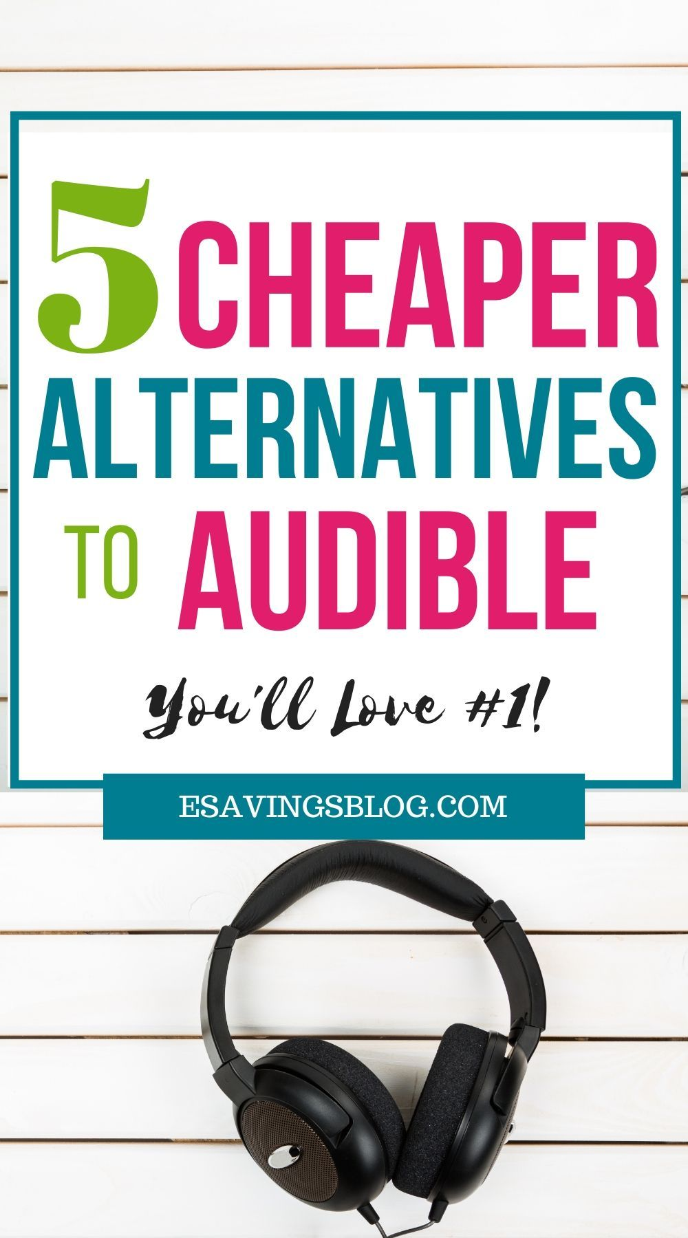 Audible Alternatives in 2020 Budgeting tips, Money