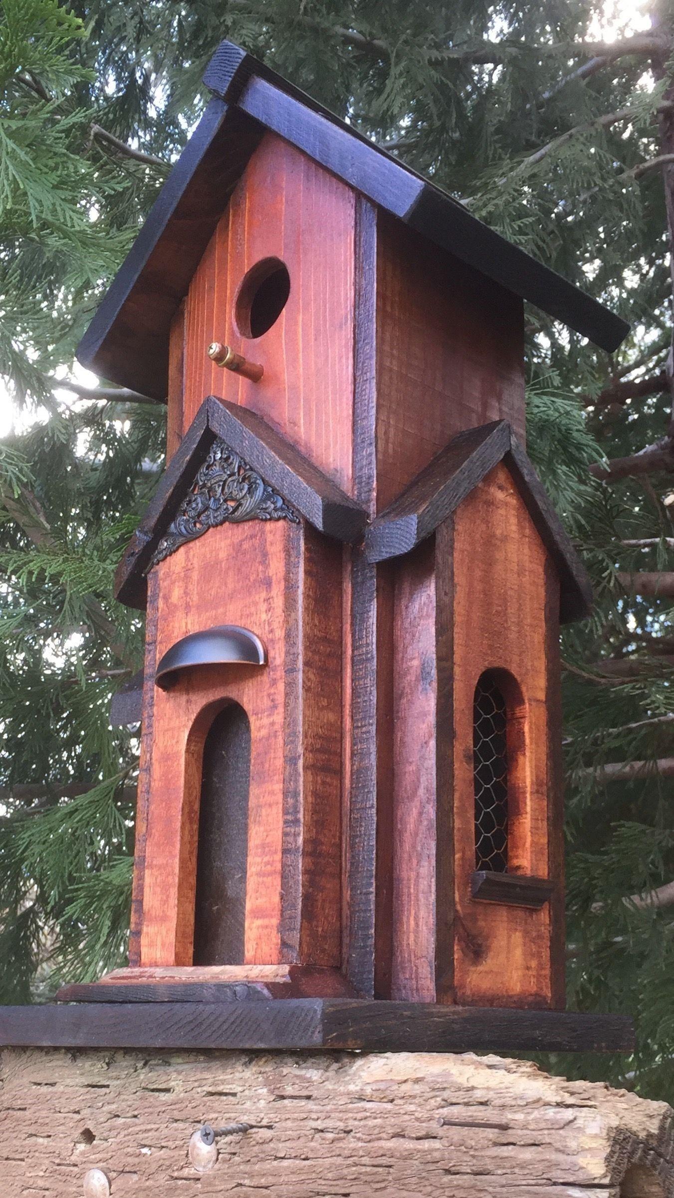 Birdhouse #birdhouses - Ted's Curb Appeal #birdhouses