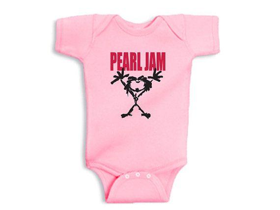 46208c150 pearl jam baby bodysuit by piquirriki on Etsy, $13.50   Things I ...