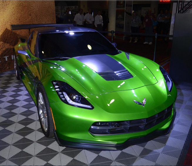 Chevrolet Corvette Stingray From Transformers 4. Is This
