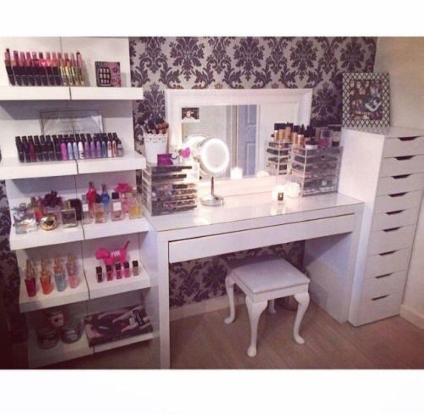 40 Diy Home Decor Ideas: 40 Creative DIY Makeup Vanity Design Ideas That'S Inpire
