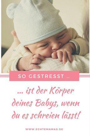 """Großes Streitpotenzial! Kaum ein Thema erhitzt die Gemüter von uns Mamas so sehr wie die Frage """"Baby schreien lassen, oder nicht?"""" Jedoch bedeutet langes Schreien für Babys großen körperlichen Stress. Foto: ©️ unsplash / echo grid #baby"""