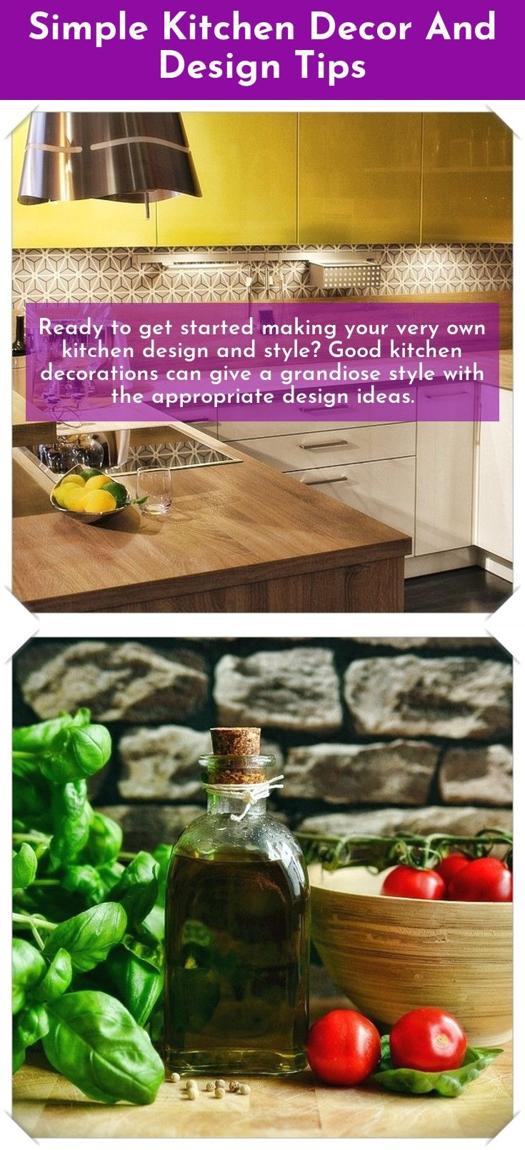 Simple kitchen style and decor tips are you re decorating your