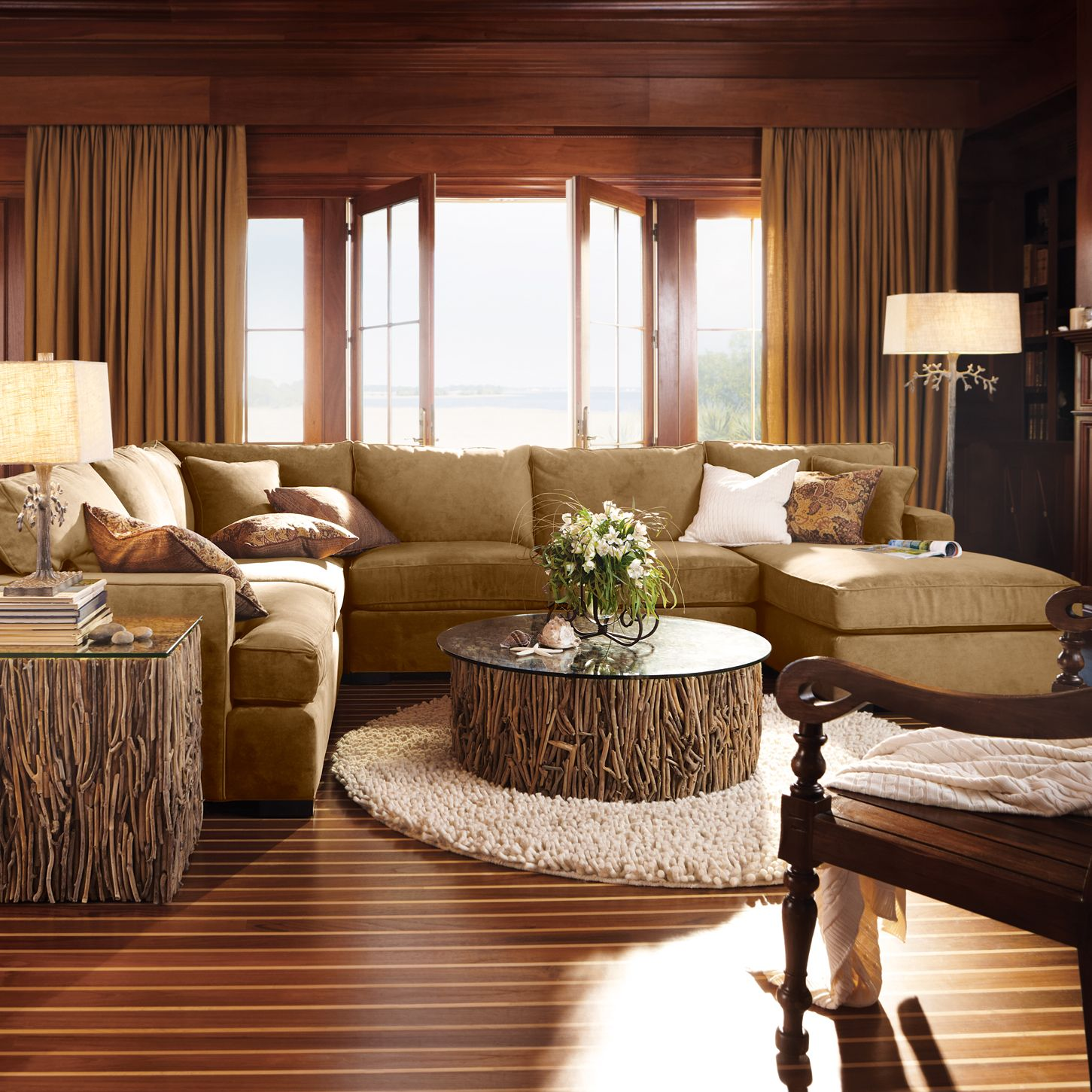 Best Arhaus Dune 4 Piece Sectional Arhaus Furniture Living 400 x 300