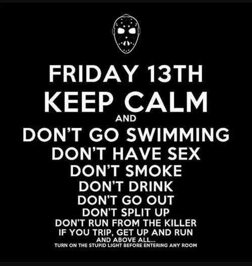 The 17 Best Friday The 13th Memes And Tweets To Share On Social Media Friday The 13th Funny Friday The 13th Memes Friday The 13th Quotes