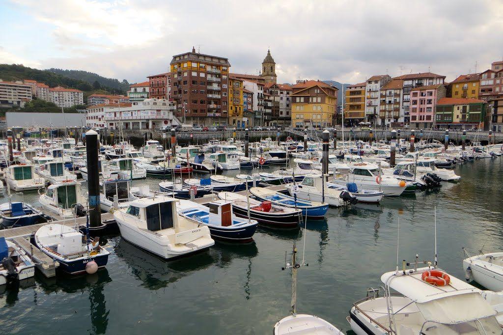 Puerto de Bermeo. País Vasco. España.