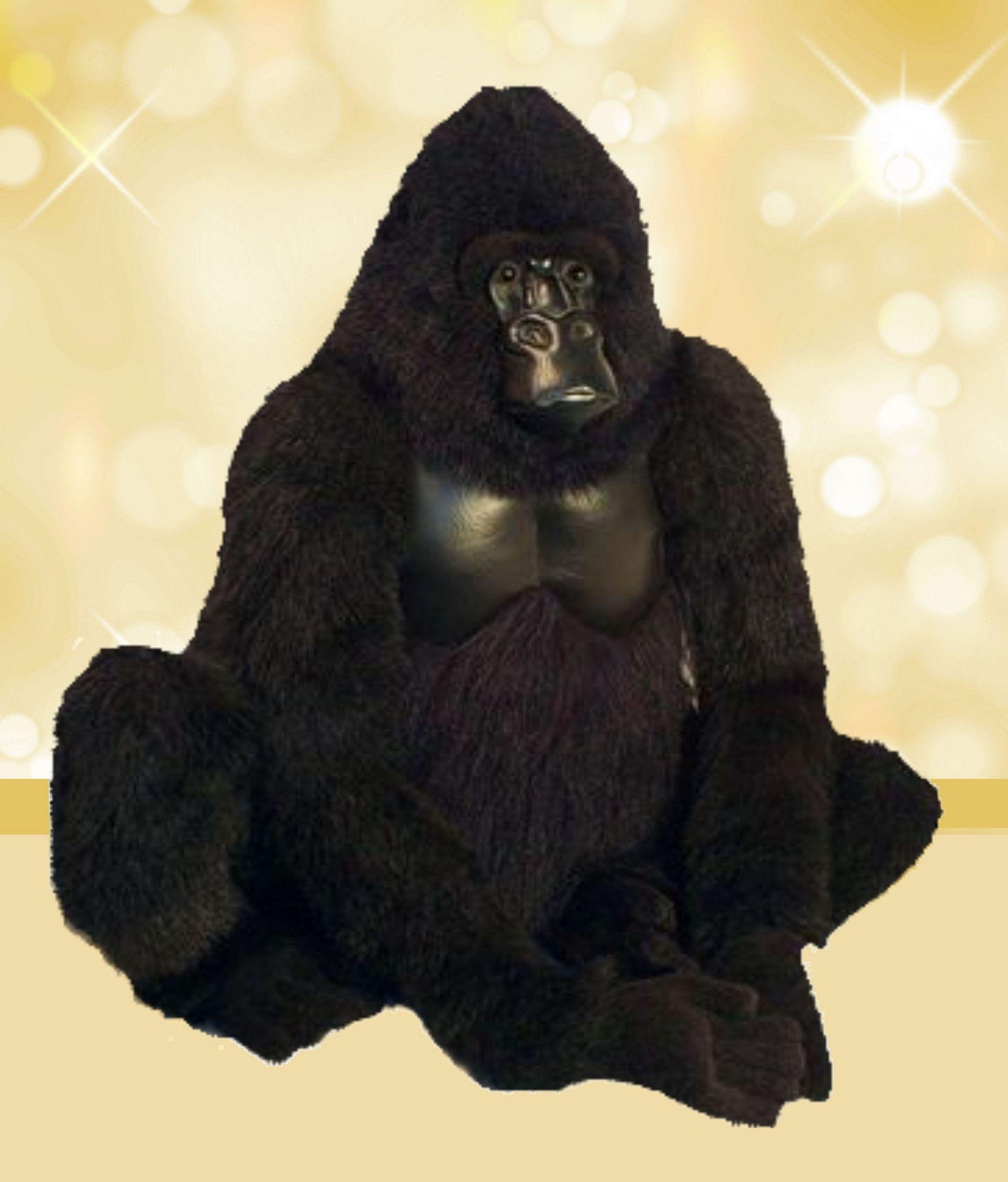 Koko Gorilla Life Size Stuffed Animals Giant Stuffed Animals Koko Gorilla [ 2048 x 1747 Pixel ]