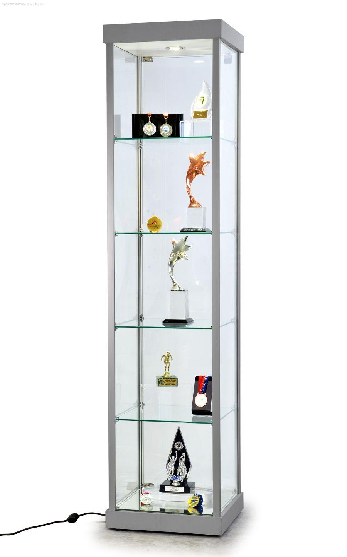 Tall Glass Showcase