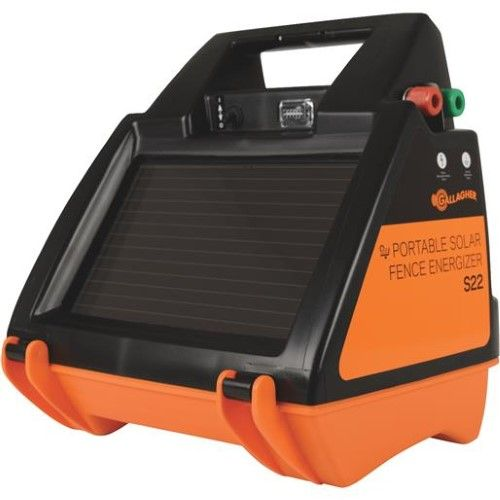 GALLAGHER S22 SOLAR ELECTRIC FENCE CHARGER ENERGIZER 40 Acres//12 Miles G344414