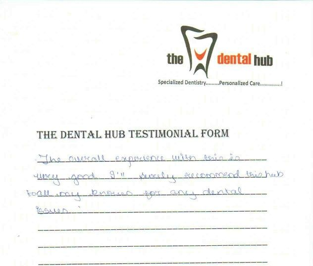 Another Satisfied Patient   Another Fabulous Feedback    The