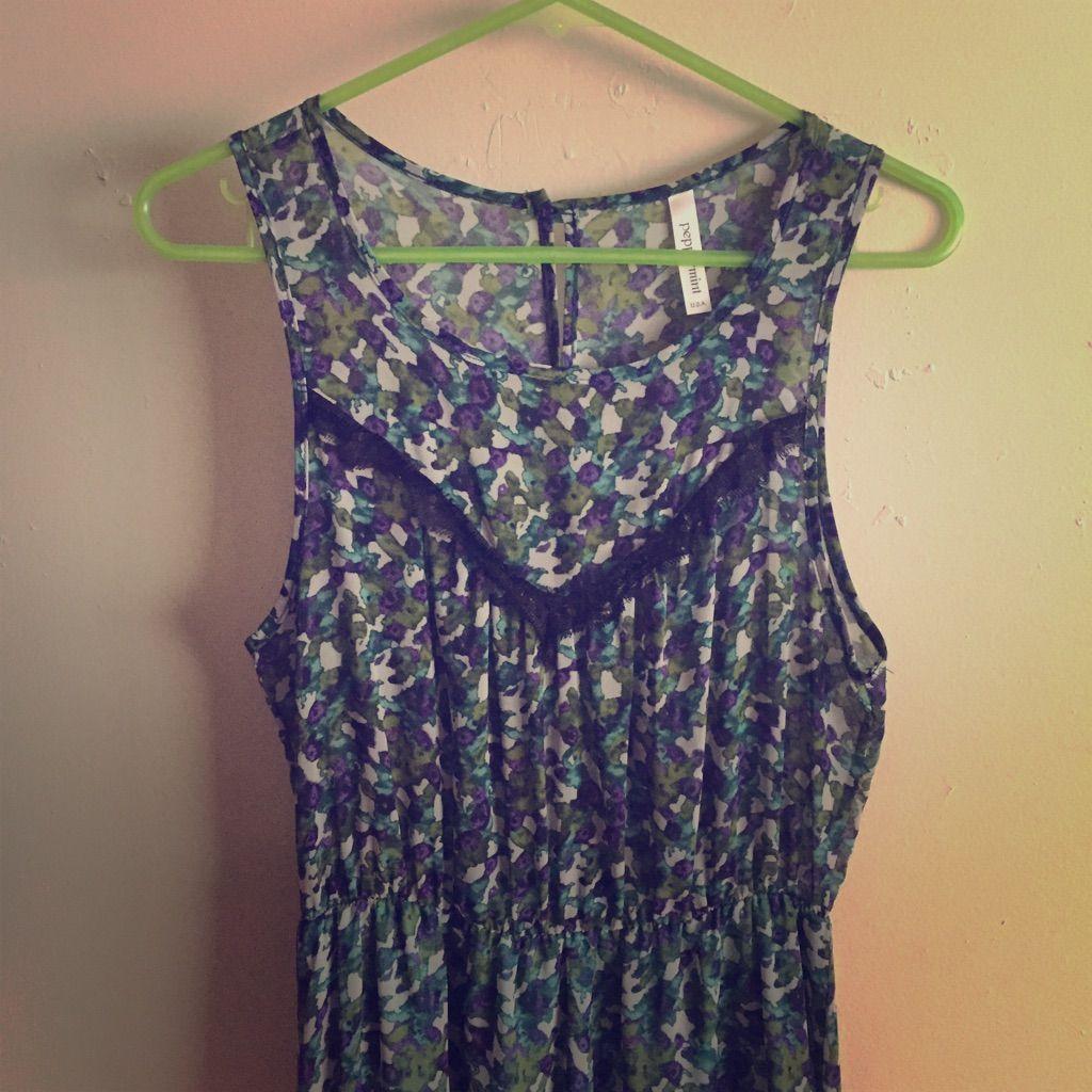 High-Low Floral Dress