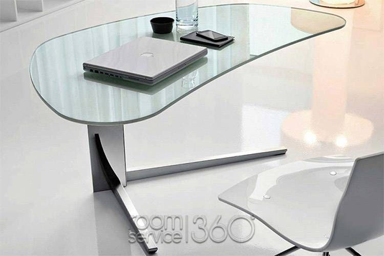 Glass Desk Office Ideas from i.pinimg.com