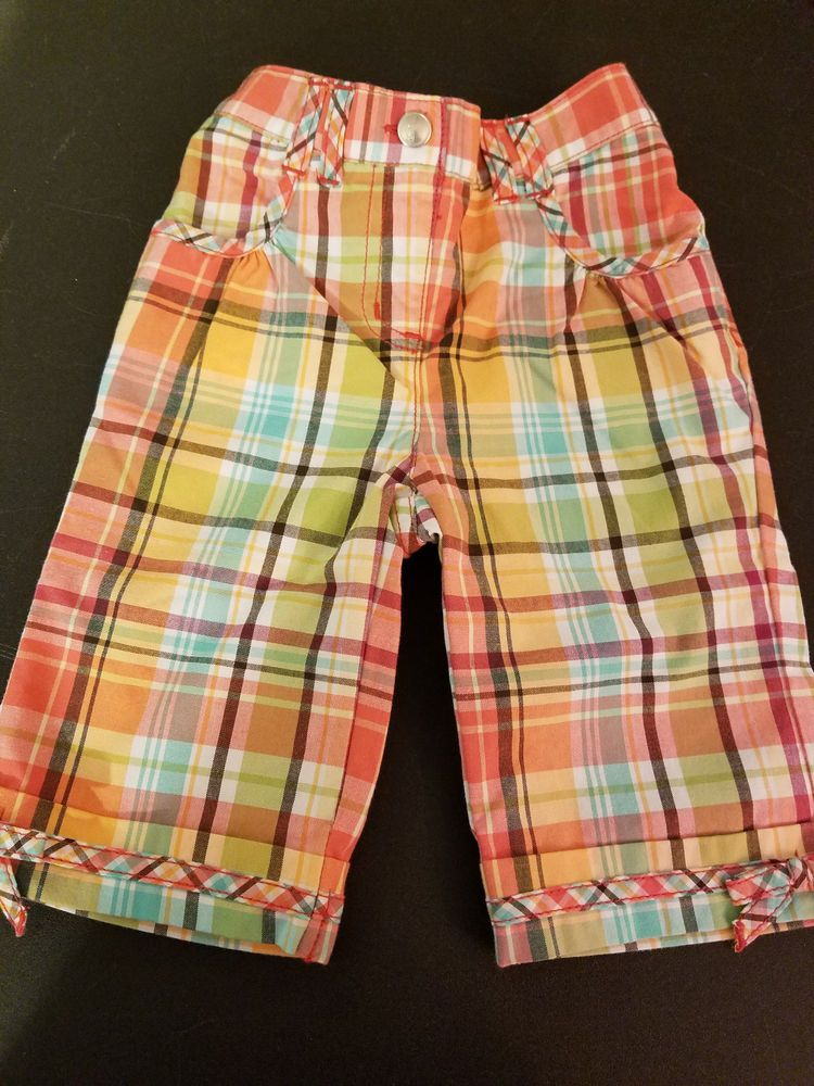 Beautiful Nwt 4t Gymboree Pink Pants Bows On Ankles Clothing, Shoes & Accessories Girls' Clothing (newborn-5t)