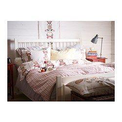 kerkulla housse de couette et taie fleur fleur 150x200 65x65 cm ikea c t dodo. Black Bedroom Furniture Sets. Home Design Ideas
